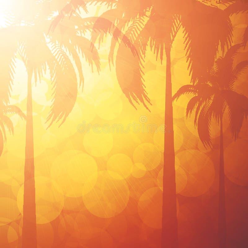 καλοκαίρι διακοπών ανασκόπησης απεικόνιση αποθεμάτων