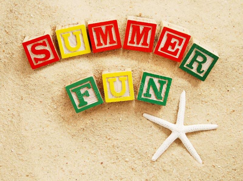 καλοκαίρι διασκέδασης στοκ εικόνα
