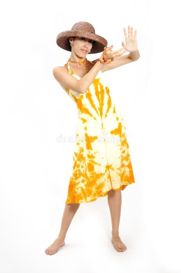 καλοκαίρι κοριτσιών μόδας στοκ φωτογραφίες με δικαίωμα ελεύθερης χρήσης