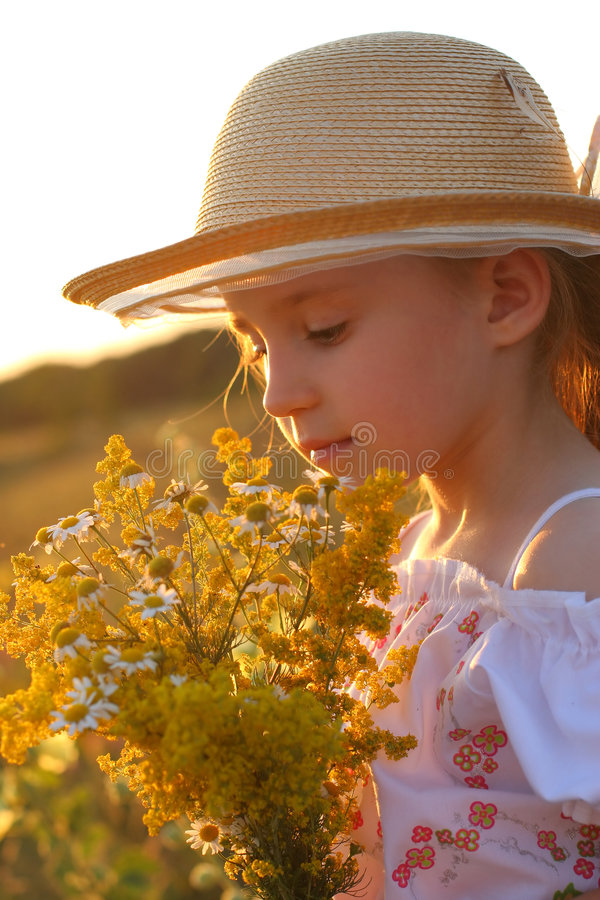 καλοκαίρι κοριτσιών στοκ εικόνες