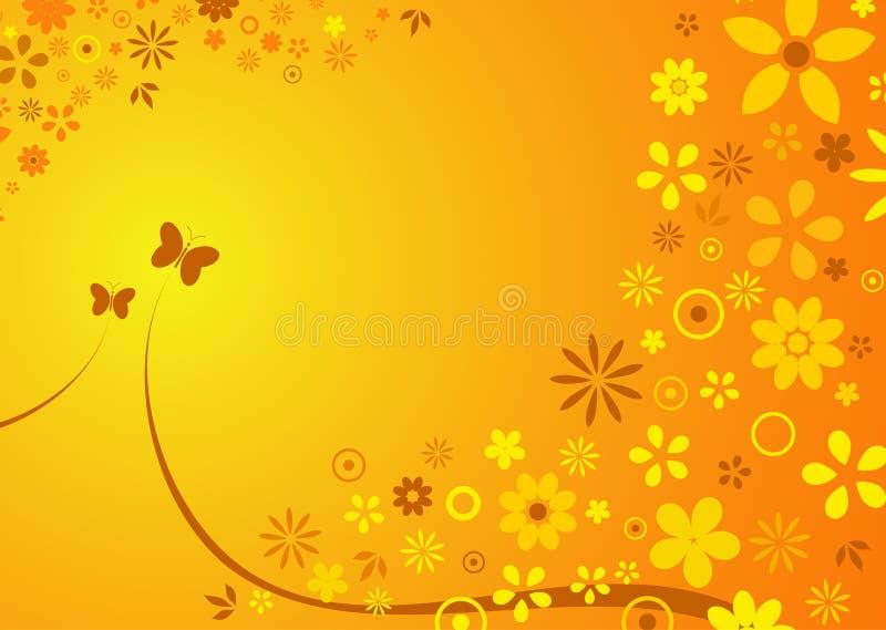 καλοκαίρι λουλουδιών & ελεύθερη απεικόνιση δικαιώματος