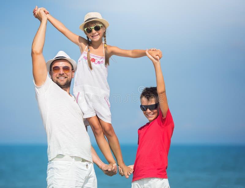 Καλοκαίρι, οικογενειακή έννοια στοκ φωτογραφία με δικαίωμα ελεύθερης χρήσης