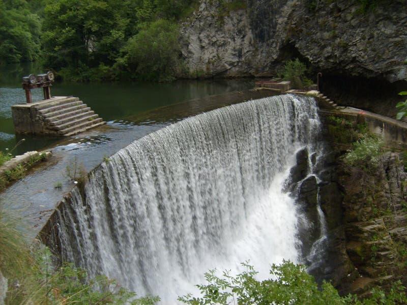 Καλοκαίρι της Σερβίας Wester ποταμών Djetinja στοκ φωτογραφίες