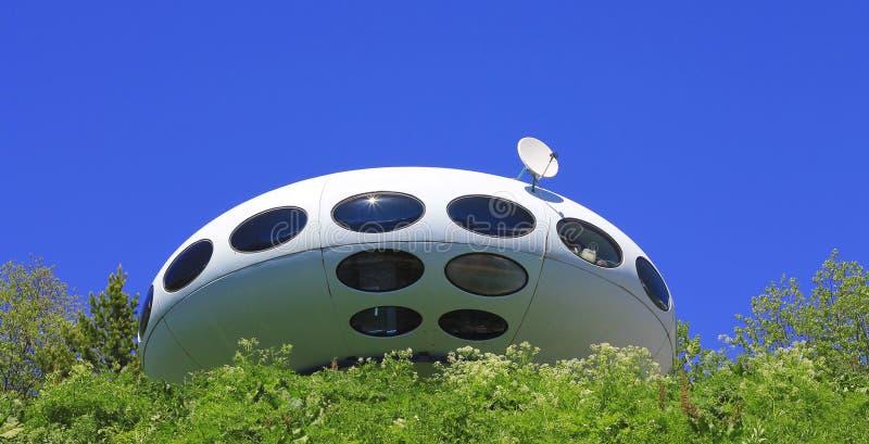 Καλοκαίρι τοπίων βουνών UFO και Καύκασου στοκ εικόνες με δικαίωμα ελεύθερης χρήσης