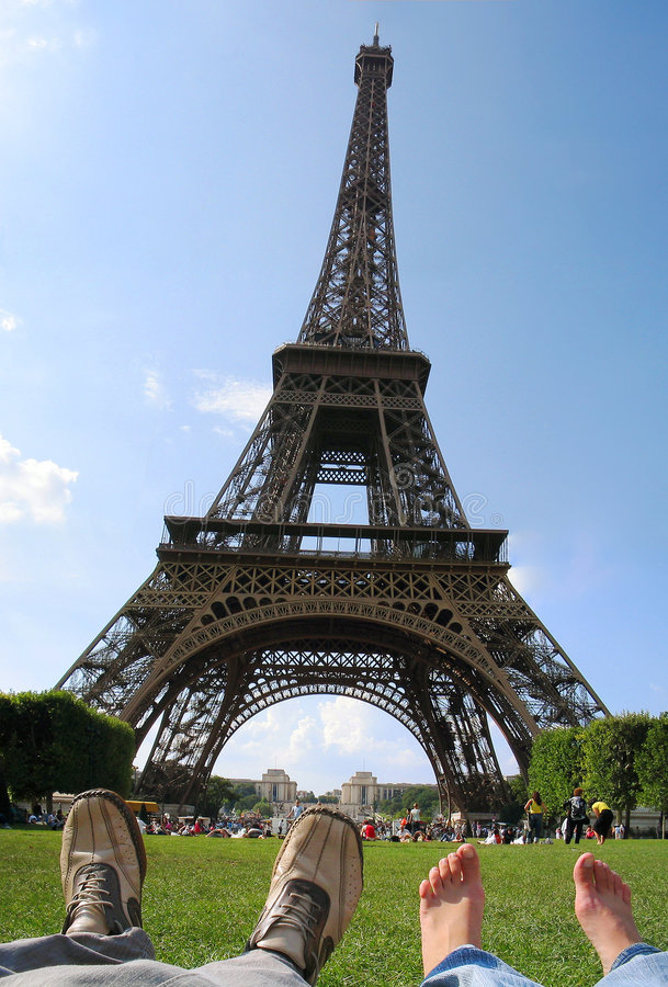 καλοκαίρι του Παρισιού στοκ φωτογραφίες με δικαίωμα ελεύθερης χρήσης