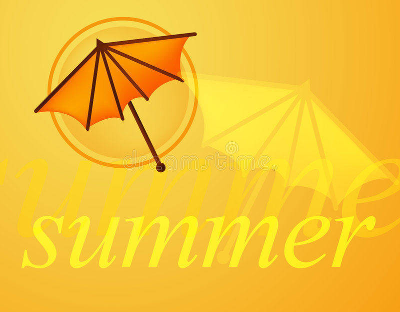 καλοκαίρι διανυσματική απεικόνιση