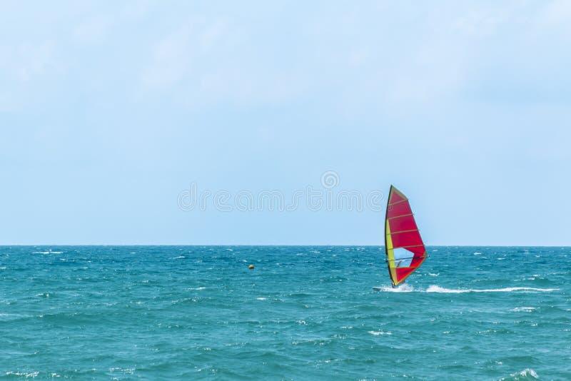 Καλοκαίρι Windsurfing στοκ εικόνα