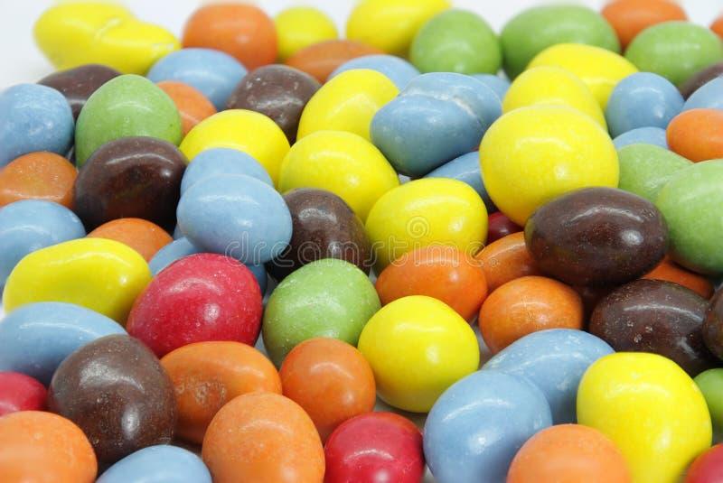Καλυμμένα με σοκολάτα φυστίκια στοκ φωτογραφία με δικαίωμα ελεύθερης χρήσης