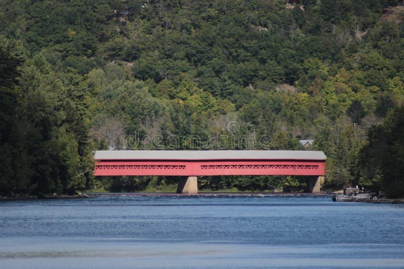 Καλυμμένη Wakefield γέφυρα στοκ φωτογραφία με δικαίωμα ελεύθερης χρήσης