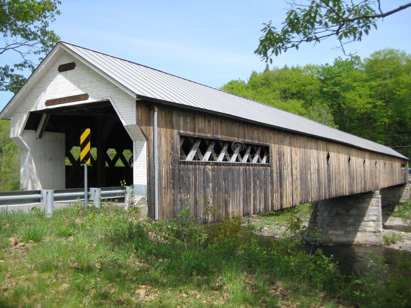 καλυμμένο γέφυρα Βερμόντ στοκ εικόνες