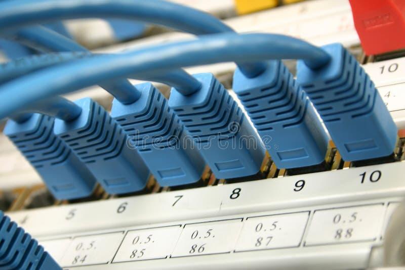 καλωδιακό δίκτυο στοκ φωτογραφία με δικαίωμα ελεύθερης χρήσης