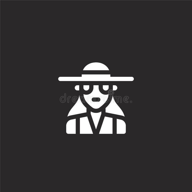 καλόγουστο εικονίδιο Γεμισμένο καλόγουστο εικονίδιο για το σχέδιο ιστοχώρου και κινητός, app ανάπτυξη καλόγουστο εικονίδιο από τη ελεύθερη απεικόνιση δικαιώματος