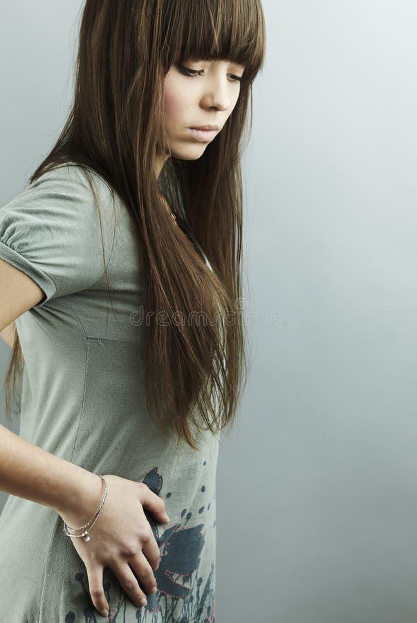καλός έφηβος πορτρέτου κ&om στοκ εικόνα με δικαίωμα ελεύθερης χρήσης