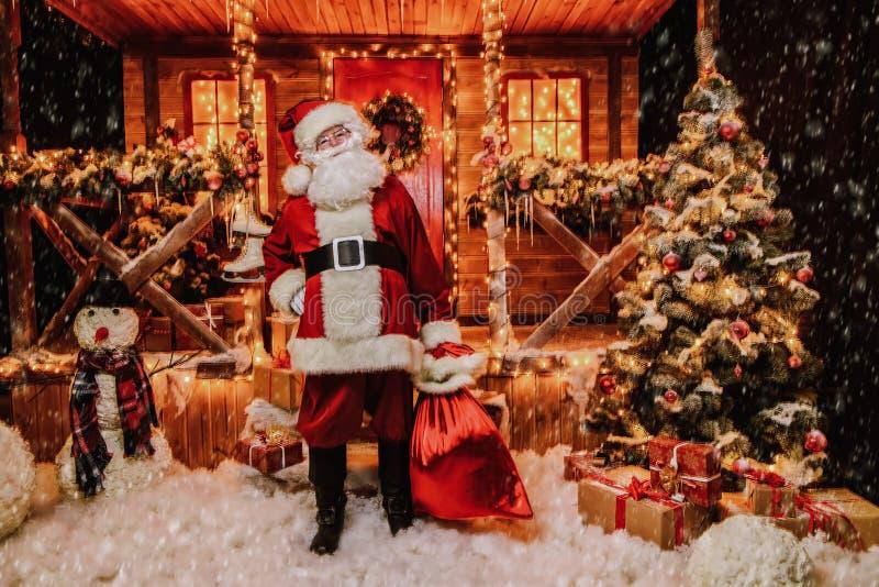 Καλός παλαιός Άγιος Βασίλης στοκ εικόνα