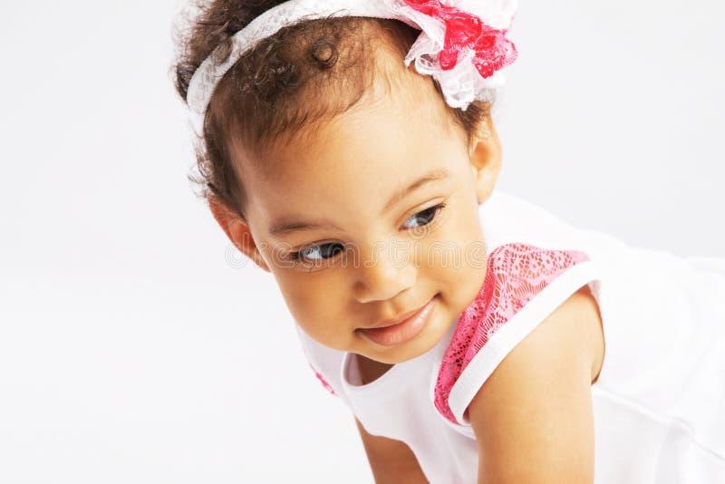 Καλό μικρό κορίτσι στοκ φωτογραφίες