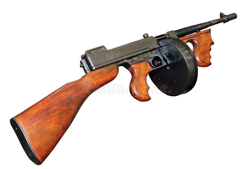 Καλό παλαιό πυροβόλο όπλο του Tommy στοκ φωτογραφίες