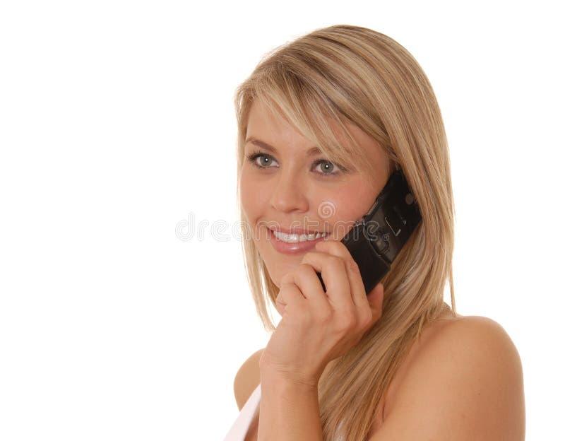 καλό τηλέφωνο κοριτσιών κ&up στοκ εικόνες