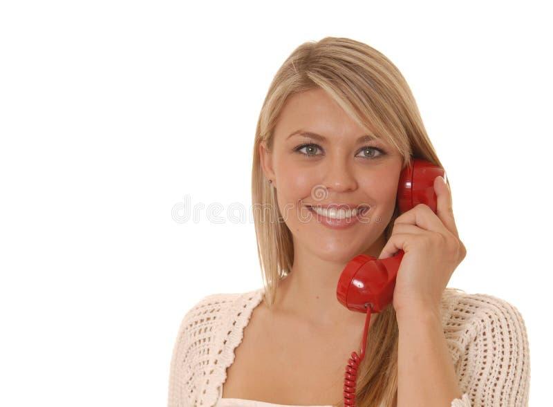 καλό τηλέφωνο κοριτσιών στοκ εικόνες