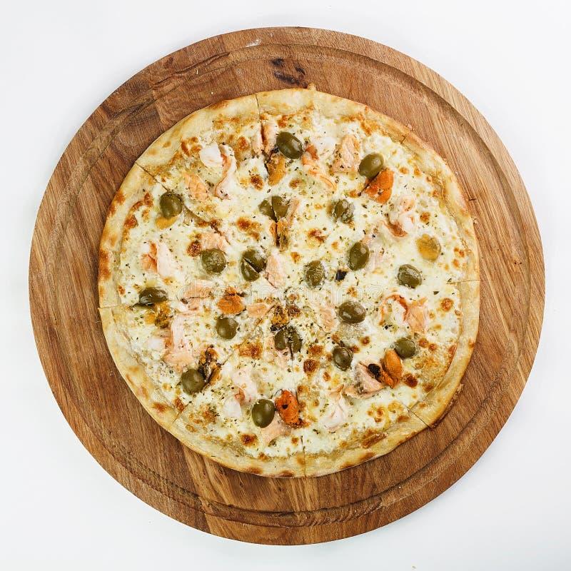 Καλύτερα ιταλικά τρόφιμα πιτσών στοκ φωτογραφία