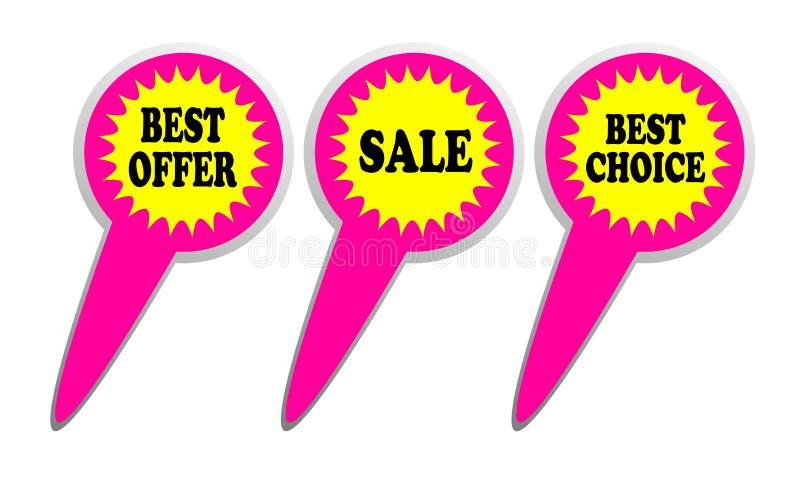 καλύτερη πώληση προσφορά&sigma ελεύθερη απεικόνιση δικαιώματος