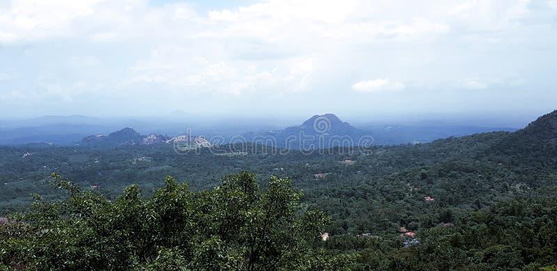 Καλύτεροι τοπ λόφοι άποψης στοκ εικόνες