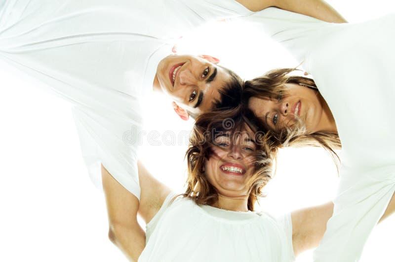 καλύτεροι φίλοι κύκλων στοκ φωτογραφία με δικαίωμα ελεύθερης χρήσης