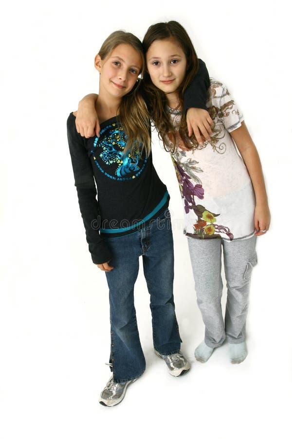 καλύτεροι φίλοι στοκ εικόνα με δικαίωμα ελεύθερης χρήσης