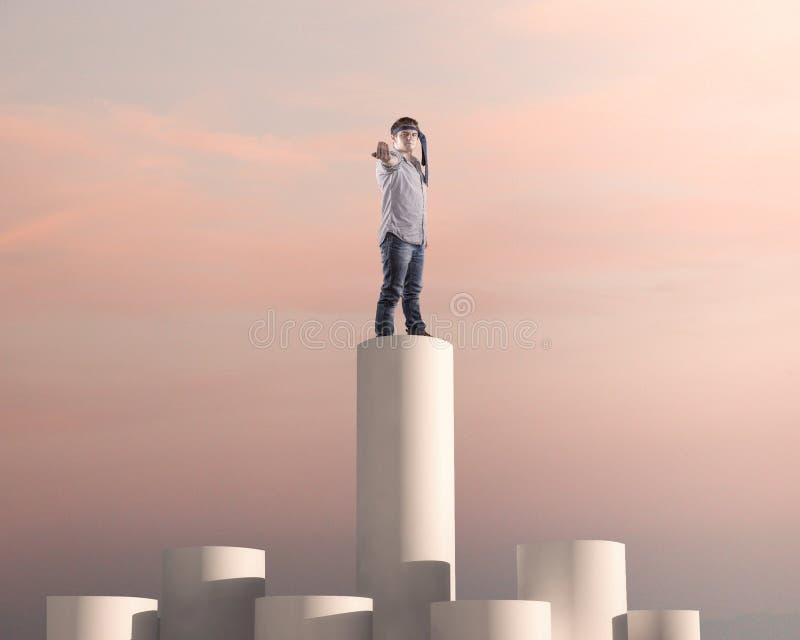 Καλύτερος επιχειρηματίας ταξινόμησης στοκ φωτογραφία με δικαίωμα ελεύθερης χρήσης