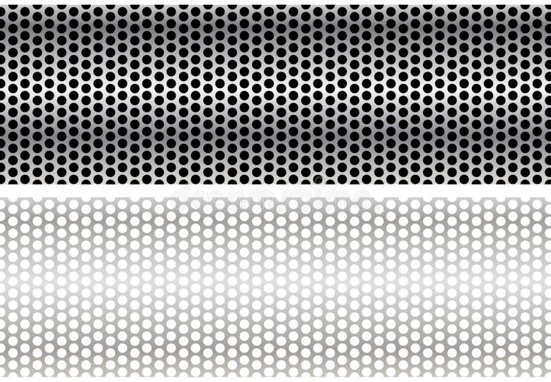 καλώδιο μετάλλων πλέγματ& διανυσματική απεικόνιση