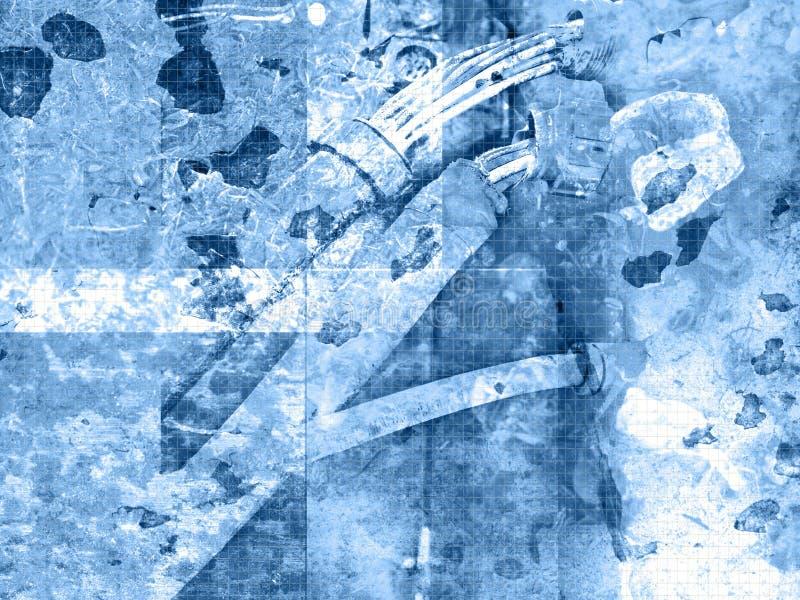 καλώδιο grunge απεικόνιση αποθεμάτων