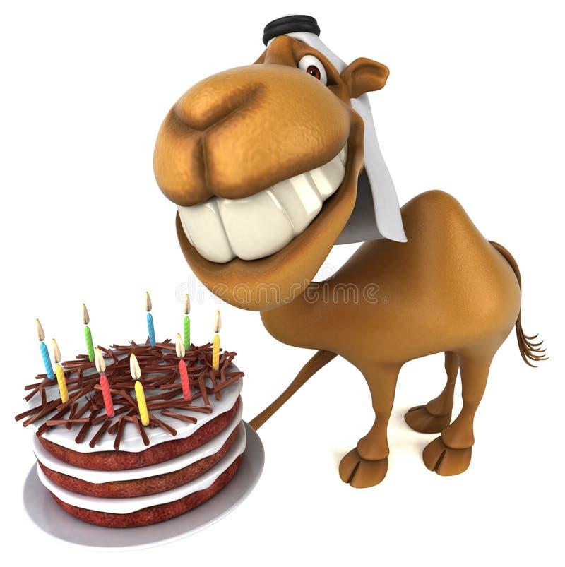 Καμήλα διασκέδασης - τρισδιάστατη απεικόνιση ελεύθερη απεικόνιση δικαιώματος