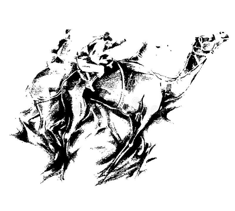 καμήλα τέχνης ελεύθερη απεικόνιση δικαιώματος