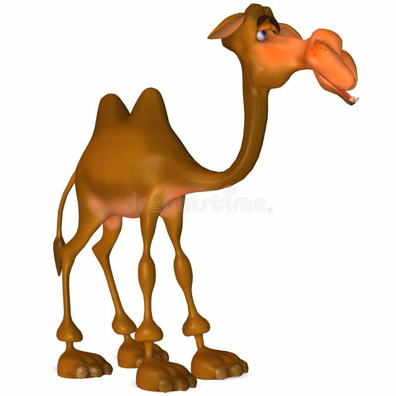 καμήλα Toon διανυσματική απεικόνιση