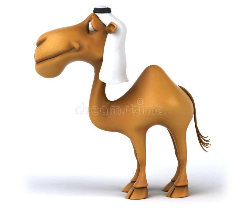 Καμήλα διασκέδασης ελεύθερη απεικόνιση δικαιώματος