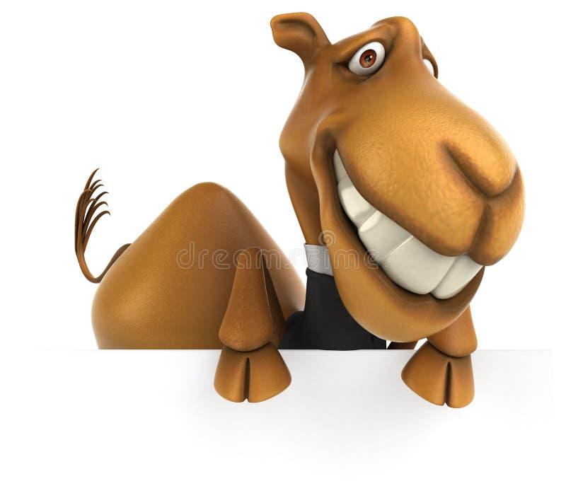 Καμήλα διασκέδασης απεικόνιση αποθεμάτων