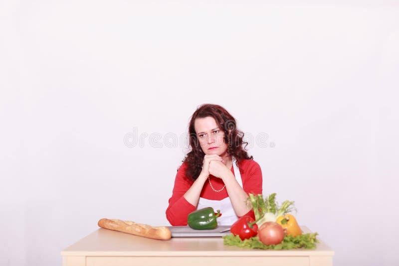 Καμία επιθυμία να μαγειρεψει; στοκ εικόνες