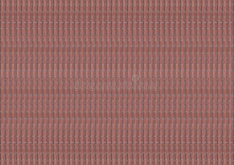 Καμβά πετρών καπλαμάδων λεπτό κάθετο κεραμιδιών σχεδίων φυσικό σκληρό χαλαζία αστικό ύφος βάσεων φραγμών teracotta καφετί στοκ φωτογραφία με δικαίωμα ελεύθερης χρήσης