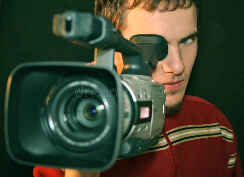καμεραμάν στοκ φωτογραφία με δικαίωμα ελεύθερης χρήσης