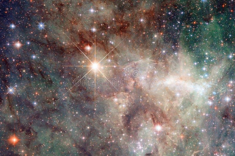 Καμμένος γαλαξίας, τρομερή ταπετσαρία επιστημονικής φαντασίας στοκ φωτογραφίες με δικαίωμα ελεύθερης χρήσης