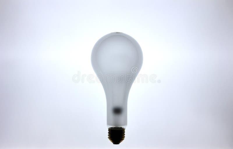 καμμένος πυρακτωμένο lightbulb στοκ εικόνα με δικαίωμα ελεύθερης χρήσης