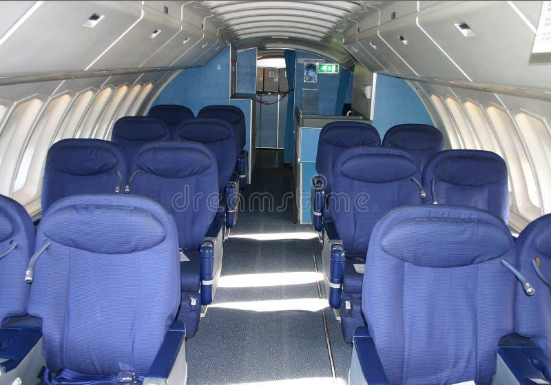 καμπίνα 747 στοκ φωτογραφία