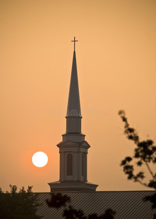 καμπαναριό εκκλησιών στοκ εικόνες