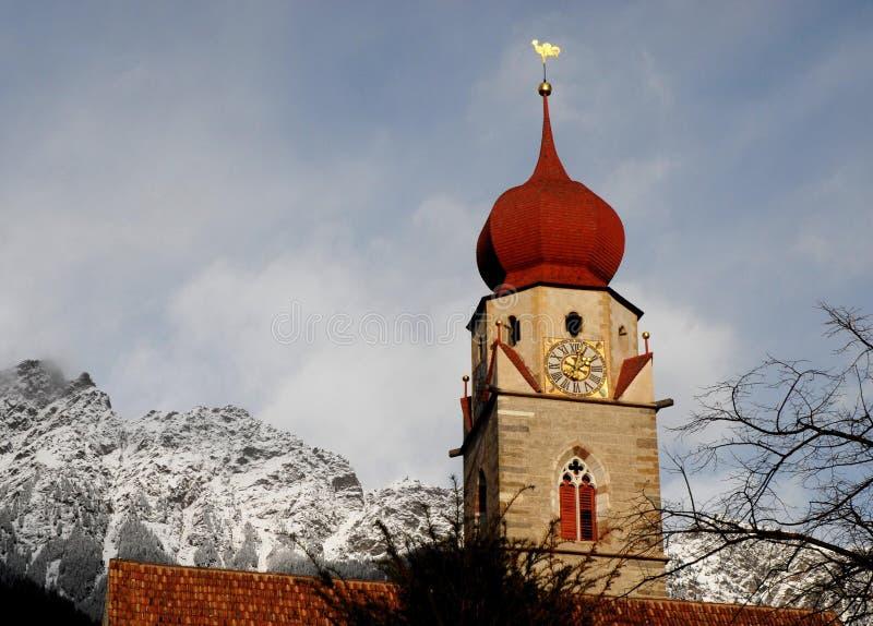 Καμπαναριό στα βουνά στοκ φωτογραφία με δικαίωμα ελεύθερης χρήσης