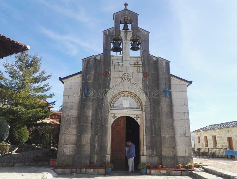 Καμπαναριό στο μοναστήρι Tvrdos, Βοσνία-Ερζεγοβίνη στοκ φωτογραφία με δικαίωμα ελεύθερης χρήσης