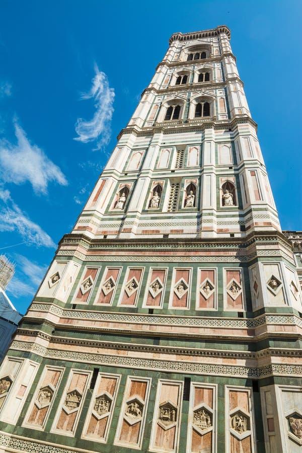 Καμπαναριό της Σάντα Μαρία del Fiore στη Φλωρεντία στοκ φωτογραφία