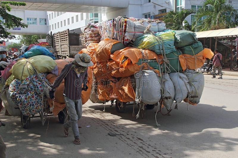 καμποτζιανά κάρρα συνόρων στοκ φωτογραφίες με δικαίωμα ελεύθερης χρήσης