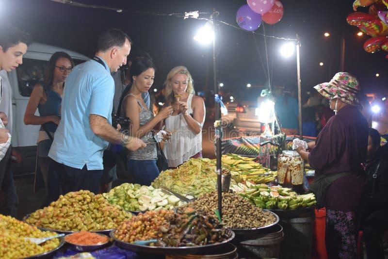 Καμποτζιανά ξινά φρούτα στοκ εικόνα