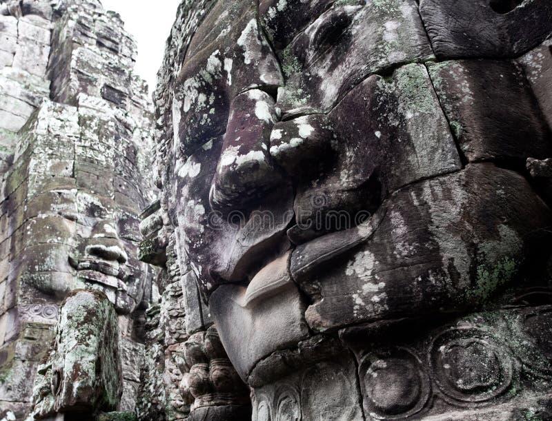 καμποτζιανός ναός Στοκ Φωτογραφία