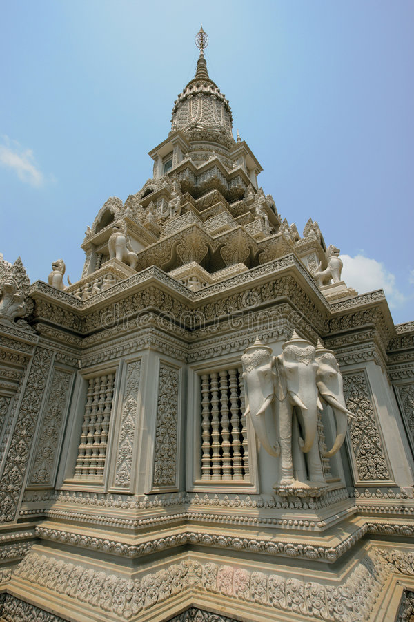 καμποτζιανός ναός στοκ φωτογραφία με δικαίωμα ελεύθερης χρήσης