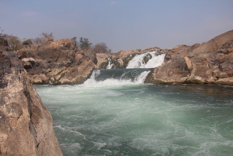 Καμπότζη Mekong ποταμός Τσιμπημένη επαρχία Treng Τσιμπημένη πόλη Treng στοκ φωτογραφίες